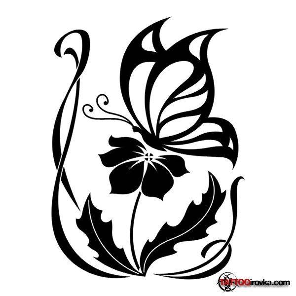 Цветы рисунки символами 12.